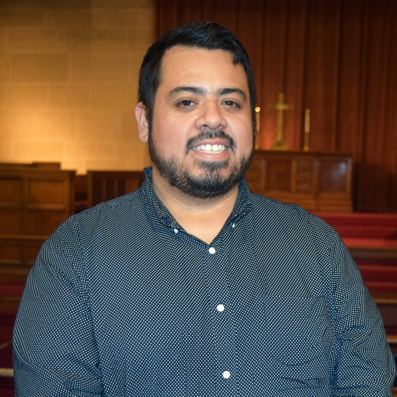 Edgar Diaz, Church Manager